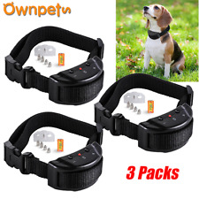 Automatic Electric Anti No Bark Dog Trainer Stop Barking Training Shock Collars