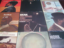 THELONIOUS MONK COLUMBIA/SONY RECORDS LIMITED EDITION STEREO & MONO 9 LP SET