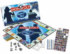 TELEVISION COMPETITION SHOW AMERICAN IDOL TV TALENT MONOPOLY BOARD GAME HASBRO