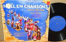 """PHILIPS 10"""" Minigroove """"Noel en Chanson"""" FRANCE Mestral CARIVEN Kreder P 10.180"""