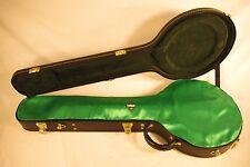 "GREEN ""AxeShield HD"" Satin Protection Shroud ATTACHES To 5 String Banjo Case"