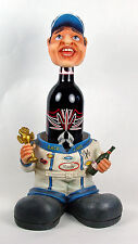Race Car Driver 2 Piece Wine Liquor Holder Racing NIB