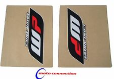 WP Horquilla Stickers Calcomanías clear/red/blk Para Ktm Supermoto Mx Enduro