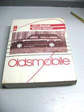 OLDSMOBILE  BRAVADA  1991  SERVICE  MANUAL  VINT.  ORIGINAL   CLEAN
