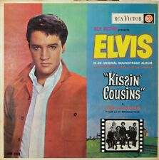 "ELVIS PRESLEY Kissin' Cousins OST Vinyl LP Record Made In NZ 1964 ""VERY RARE"""