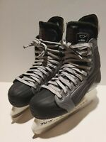 SENIOR BAUER NIKE QUEST Q2 ICE HOCKEY SKATES SIZE 7.5 D TUUK CUSTOM+ NICE