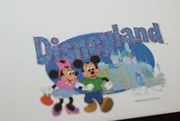 Disneyland Letterhead Sheet of Stationery Group Sales Walt Disney Mickey Mouse