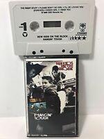 Vtg 80s New Kids On The Block Cassette Tape Hanging Tough Great Shape 1988 NKOTB