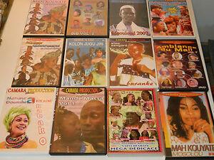 LOT DVD AFRIQUE africain MANDE MASSA doumbia JUGU JIRI mah kouyate HAIDARA mali