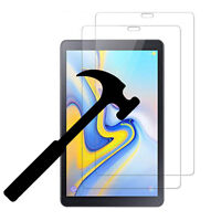 "2 PC Tempered Glass Screen Protector for Samsung Galaxy Tab A 8.0"" SM-T387 2018"