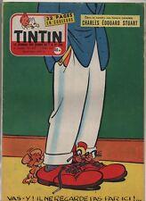 TINTIN n°437 du 7 mars 1957 - Complet -  Couverture MACHEROT