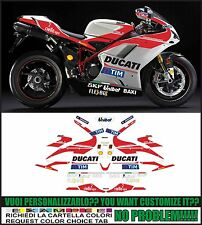 kit adesivi stickers compatibili 848 1098 1198 gp 2016 replica