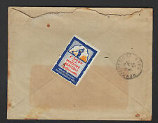 BAR-sur-AUBE (10) Ets MOTEURS CERES / TIMBRE VIGNETTE Exposition à PARIS 1925