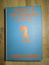 Nancy's Mysterious Letter by Carolyn Keene (1932 Vintage Hardcover Book)