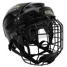 No Fear Combo Ice Hockey Helmet Lightweight Foam Training Sports Protection L
