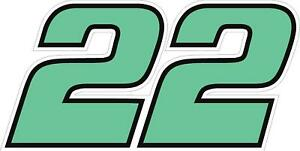 NEW FOR 2020 #22 Austin Cincric Racing Sticker Decal - Sm thru XL - Vars colors