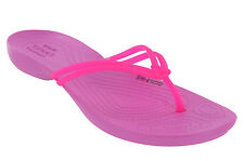Crocs Isabella Flip Women Womens Shoes Slides Sandals Thongs Vibrant Pink/party Pink EU 38-39 - UK W6