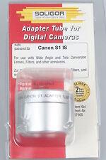 Soligor connecteur tube de l'/ Adaptateur Tube Pour Canon s1 is b52mm