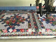 Statler Stitcher Longarm Quilting Service king size quilt top 104 x 93