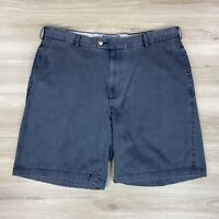 """Peter Millar Men's Gray Pima Cotton Casual Washed Shorts 9"""" Inseam Size 38"""