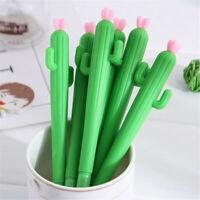0.5mm Cactus Gel Pens Kids Pen Cute Gift School Student Office Station DD