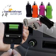 USB AUTO CARICABATTERIA CELLULARE SAMSUNG IPHONE IPOD CARICA BATTERIA STOCK