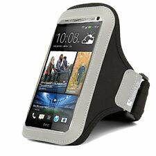 Black Neoprene Sports Runing Jogging Armband Case for Samsung Galaxy Note 10+ 5G