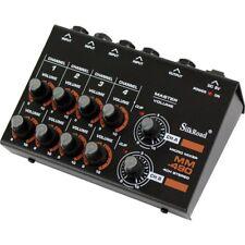 Silk Road MM-490 4ch STEREO MICRO MIXER DJ Audio Mic Music Pro Sound Home Studio