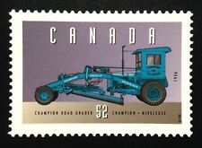 """Canada #1604d MNH, Historic Land Vehicles """"4"""" Stamp 1996"""