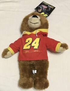 NASCAR Jeff Gordon #24 Teddy Bear Plush Stuffed Animal Hendrick Motorsports