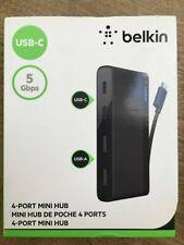 BELKIN Mini hub 4 ports (2 x USB-C et 2 x USB-A)
