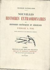 EO N° SUR CHINE EDGAR A. POE FERNAND SIMÉON NOUVELLES HISTOIRES EXTRAORDINAIRES