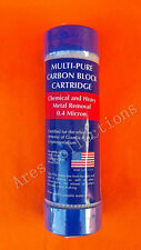 Multi-Pure 0.4mic Small Bore Carbon Block Replacement Filter Cartridge ~ USA