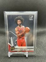 2019-20 Clearly Donruss Coby White Rated Rookie RC #56 Chicago Bulls