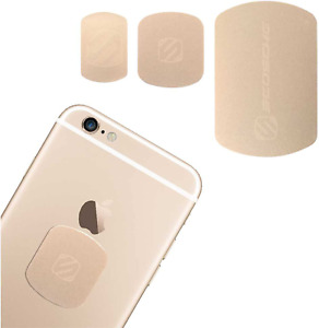 SCOSCHE MAGRKGDI MagicMount Magnetic Mount Plate Kit for Mobile Devices Gold