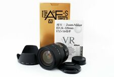Nikon AF S FX NIKKOR 24-120mm f/3.5-5.6 G IF ED VR From Japan [Exc+++++]