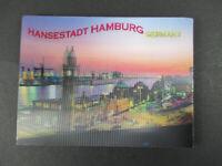 "Magnet Hamburg Landungsbrücken 3 D "" Neoprenmagnet "" 10 cm Germany Souvenir"