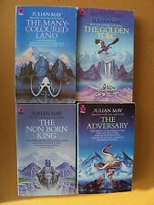 The Saga of the Exiles Julian May Complete 4 Volumes Epic Fantasy Chronicle