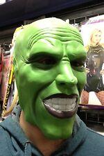 """""""la MASCHERA"""" Verde Scuro LATEX MASK JIM CARREY Costume Halloween PELLICOLA"""