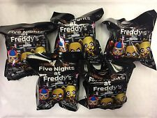 FIVE NIGHTS AT FREDDYS SERIES 1 BLIND BAGS 4 BAGS ONLY JUST TOYS INT COLLECT 11*