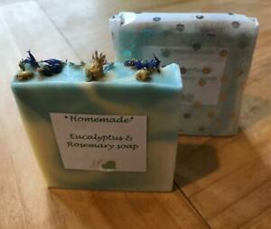 Handmade Natural soaps using 100% pure essential oils. Lovely gift.