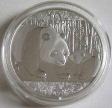 China 10 yuans 2011 panda 1 Oz plata