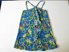Women's FOREVER NEW Sz 10 AU Floral Dress Blue Green ExCon | 3+ Extra 10% Off
