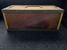 "14"" Vintage Oberlin Fishing Bait Canteen Worm Box 14 x 7 x 6"