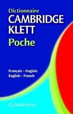Dictionnaire Cambridge Klett Poche Français-Anglais/English-French English