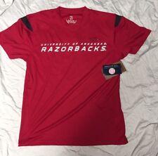 Arkansas Razorbacks Men's Moisture Wicking NCAA T-Shirt XL NWT
