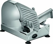 Clatronic Ma 3585 - Cortafiambres de acero inoxidable corte ajustable disco C