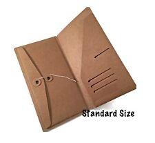 Kraft File Folder with Envelope for Standard or Regular Size Travelers Notebook