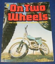 ON TWO WHEELS NUMBER 11 - BIRMINGHAM SMALL ARMS/BULTACO MOTORCYCLES