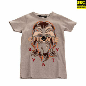 STAR WARS By SVNTY T-Shirt Top Size 6Y Melange Embroidered Made in Portugal
